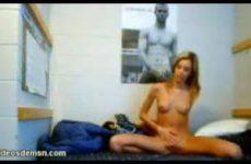 Spiernaakt voor de webcam