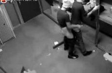 Beveiligingscameras betrappen bareback gaytieners